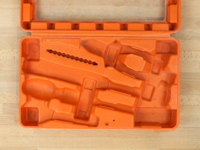 How to Reuse Old Plastic Cordless Tool Cases